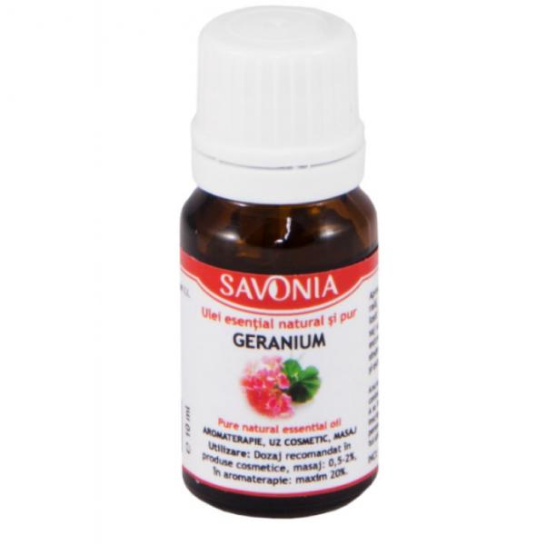 Geranium - Ulei Esential Natural si Pur Savonia 10ml [0]
