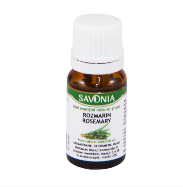Rozmarin - Ulei Esential Natural si Pur Savonia 10ml 0