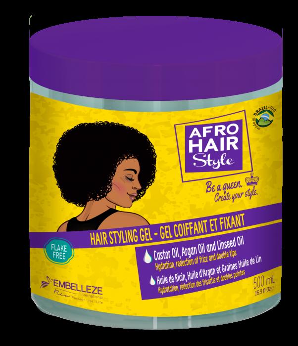 AfroHair Gel de Styling pentru Par Cret 500g [0]