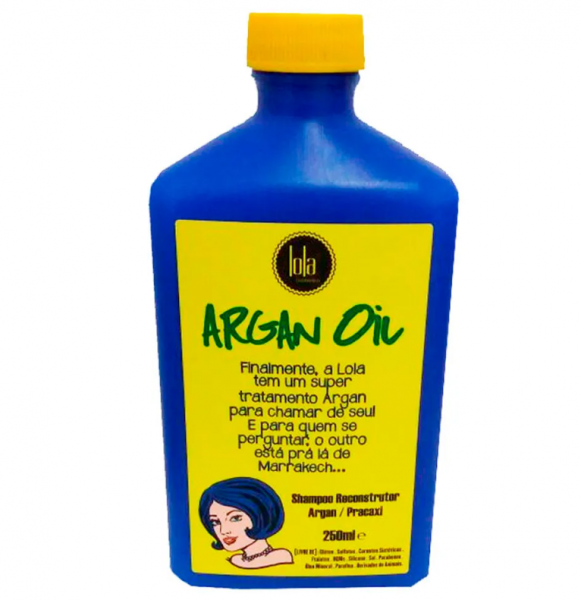 Sampon Reparator Ulei de Argan si Pracaxi 250ml 0
