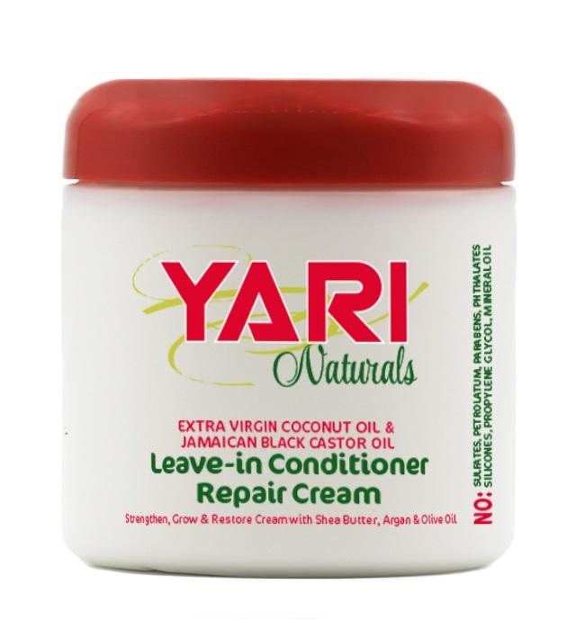 Yari Naturals Balsam Reparator Fara Clatire pentru Par Cret si Ondulat 475g 0