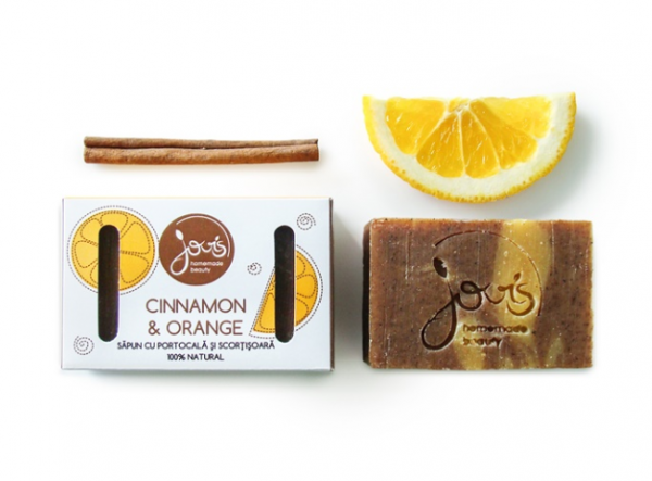 Cinnamon & Orange - Sapun Natural Jovis 100g 0