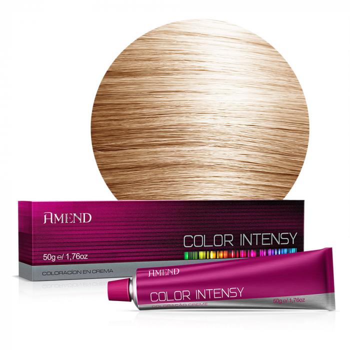 Vopsea Crema Permanenta Profesionala Color Intensy 9.0 Blond Foarte Deschis [0]