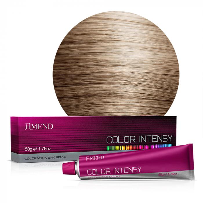 Vopsea Crema Permanenta Profesionala Color Intensy 8.0 Blond Deschis [0]