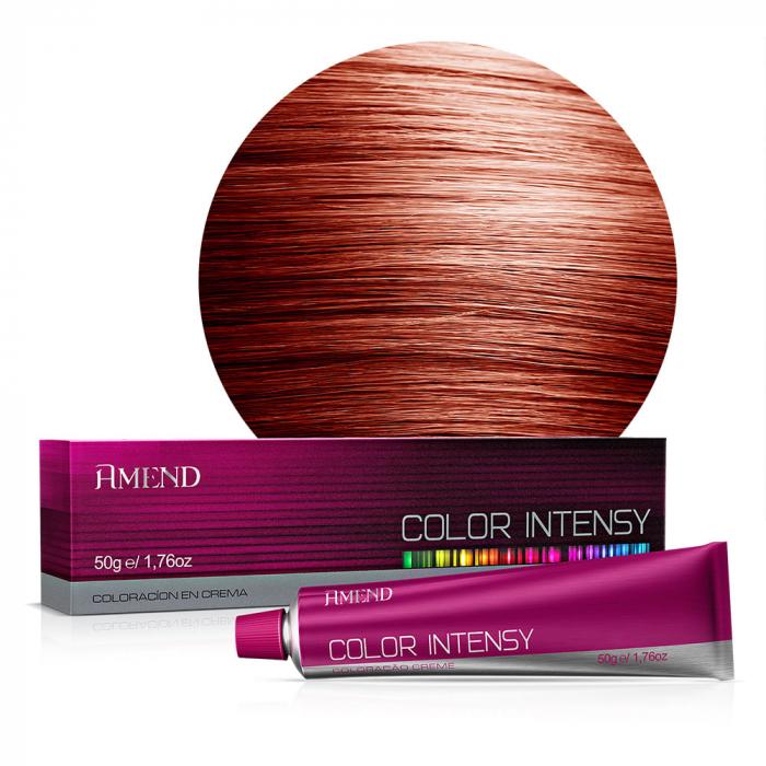 Vopsea Crema Permanenta Profesionala Color Intensy 7.46 Blond Roscat Intens [0]