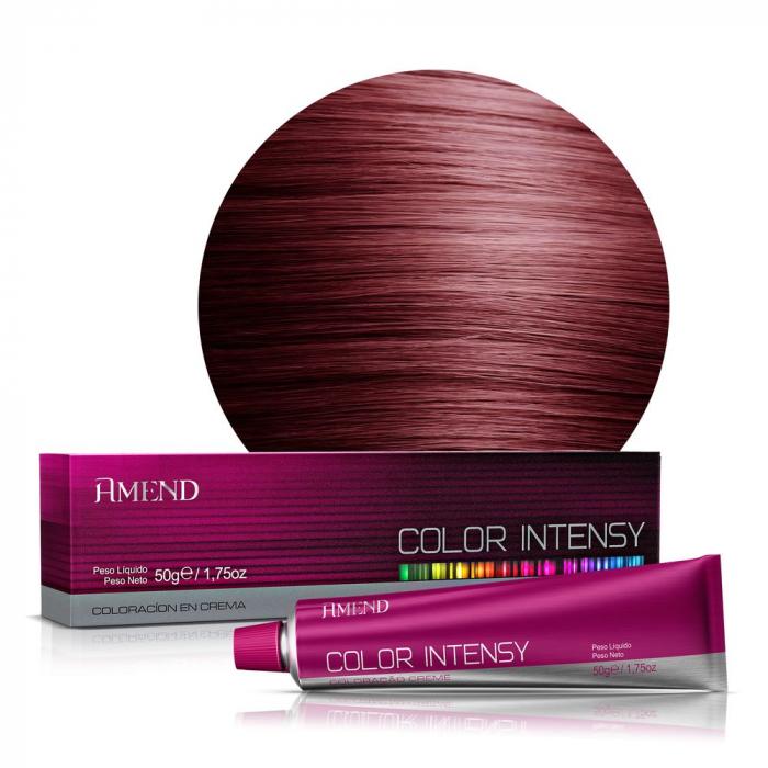 Vopsea Crema Permanenta Profesionala Color Intensy 55.46 Saten Deschis Roscat Intens [0]