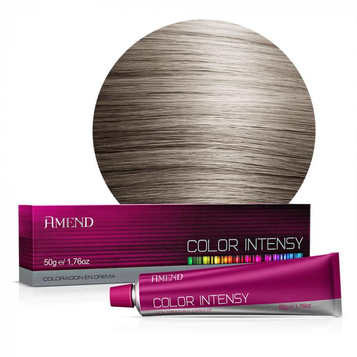 Vopsea Crema Permanenta Profesionala Color Intensy 8.1 Blond Deschis Cenusiu [0]