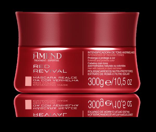 Masca Nuantatoare Rosu Expertise Red Revival 300g 0