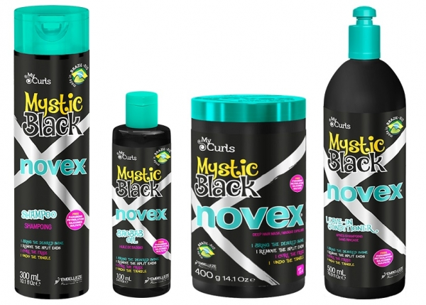 Set Curly Girl Mystic Black cu Ulei Modelator 0