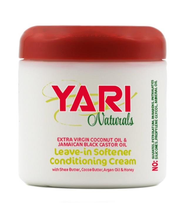 Yari Naturals Balsam Hidratant Fara Clatire pentru Par Uscat 475g [0]