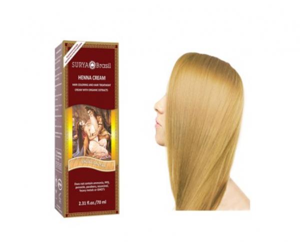 Vopsea Henna Crema Surya Brasil Blond Deschis 70ml 0