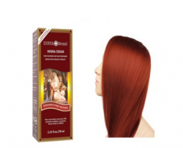 Vopsea Henna Crema Surya Brasil Blond Aramiu Mediu 70ml 0