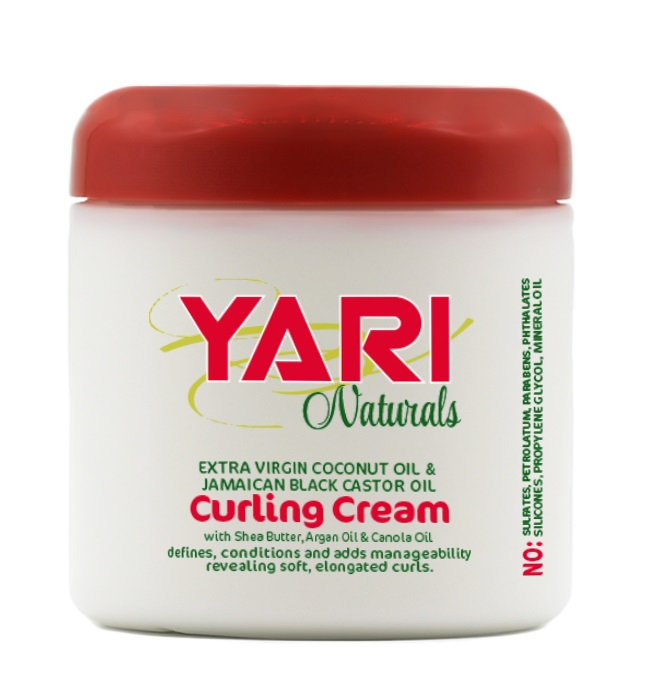 Yari Naturals Crema Modelatoare de Bucle pentru Par Cret si Ondulat 475g 0