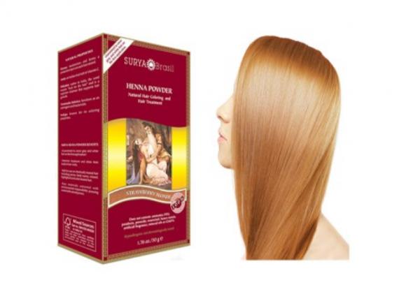Vopsea Henna Pudra Surya Brasil Blond Aramiu Deschis 50g 0