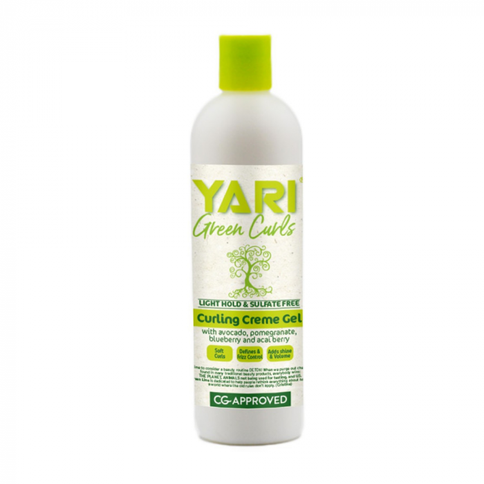 Yari Green Curls Curling Creme Gel Par Cret si Ondulat [0]