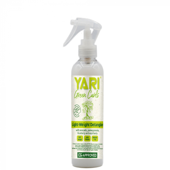 Yari Green Curls Balsam fara Clatire pentru Descurcarea Parului 240ml 0