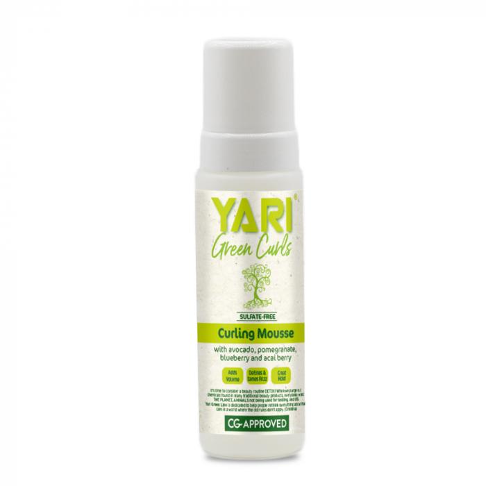 Yari Green Curls Spuma Modelatoare de Bucle pentru Par Cret si Ondulat 220ml 0