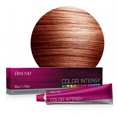 Vopsea Crema Permanenta Profesionala Color Intensy 7.43 Blond Aramiu [0]