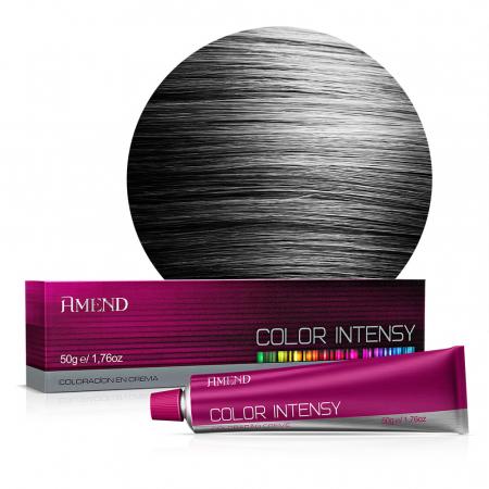 Vopsea Crema Permanenta Profesionala Color Intensy 1.0 Negru Intens [0]