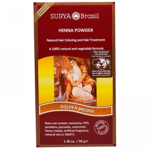 Vopsea Henna Pudra Surya Brasil Castaniu Auriu 50g1