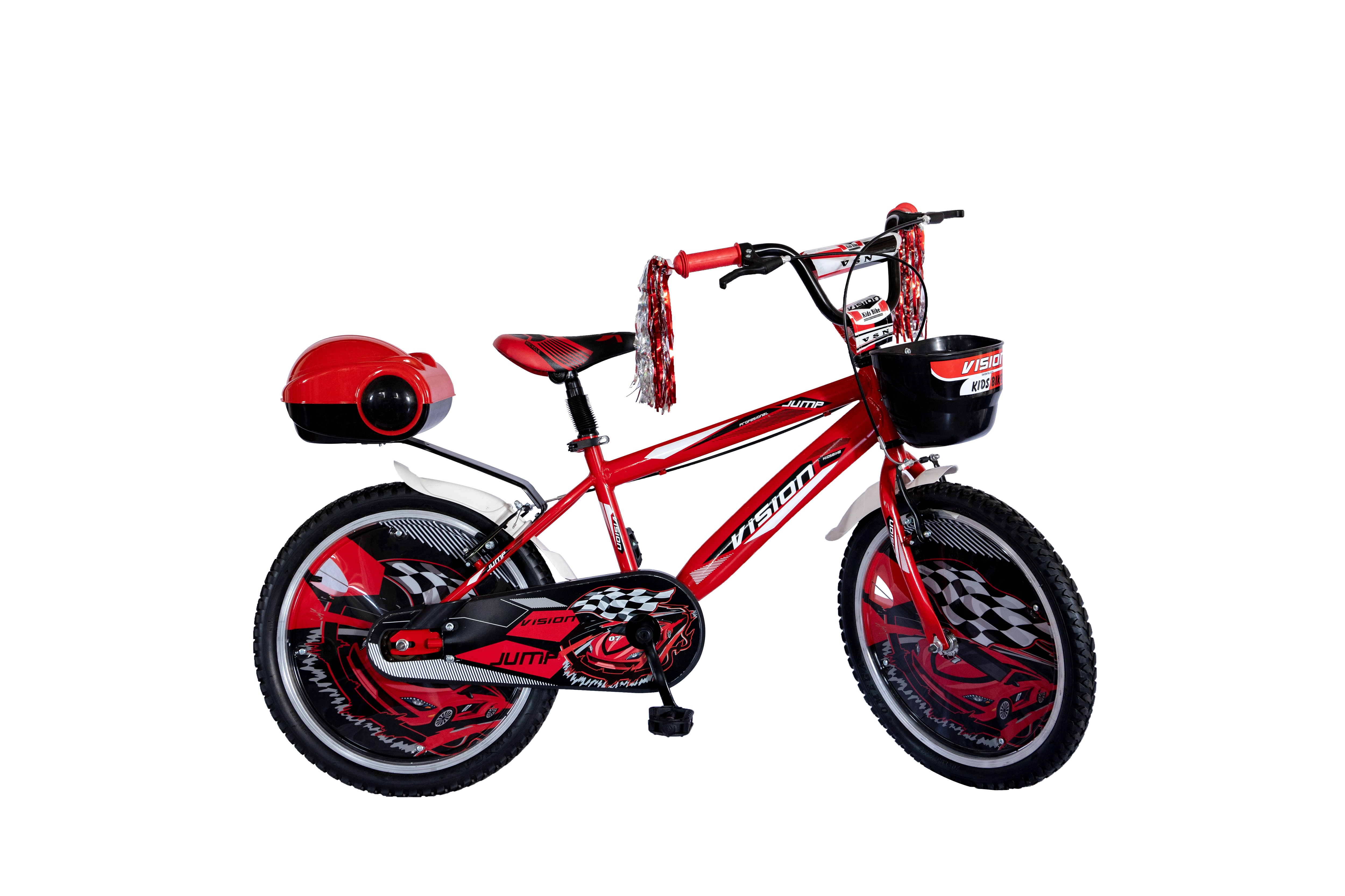 """Bicicleta Copii Vision Jump Culoare Galben/Negru Roata 20"""" Otel [0]"""