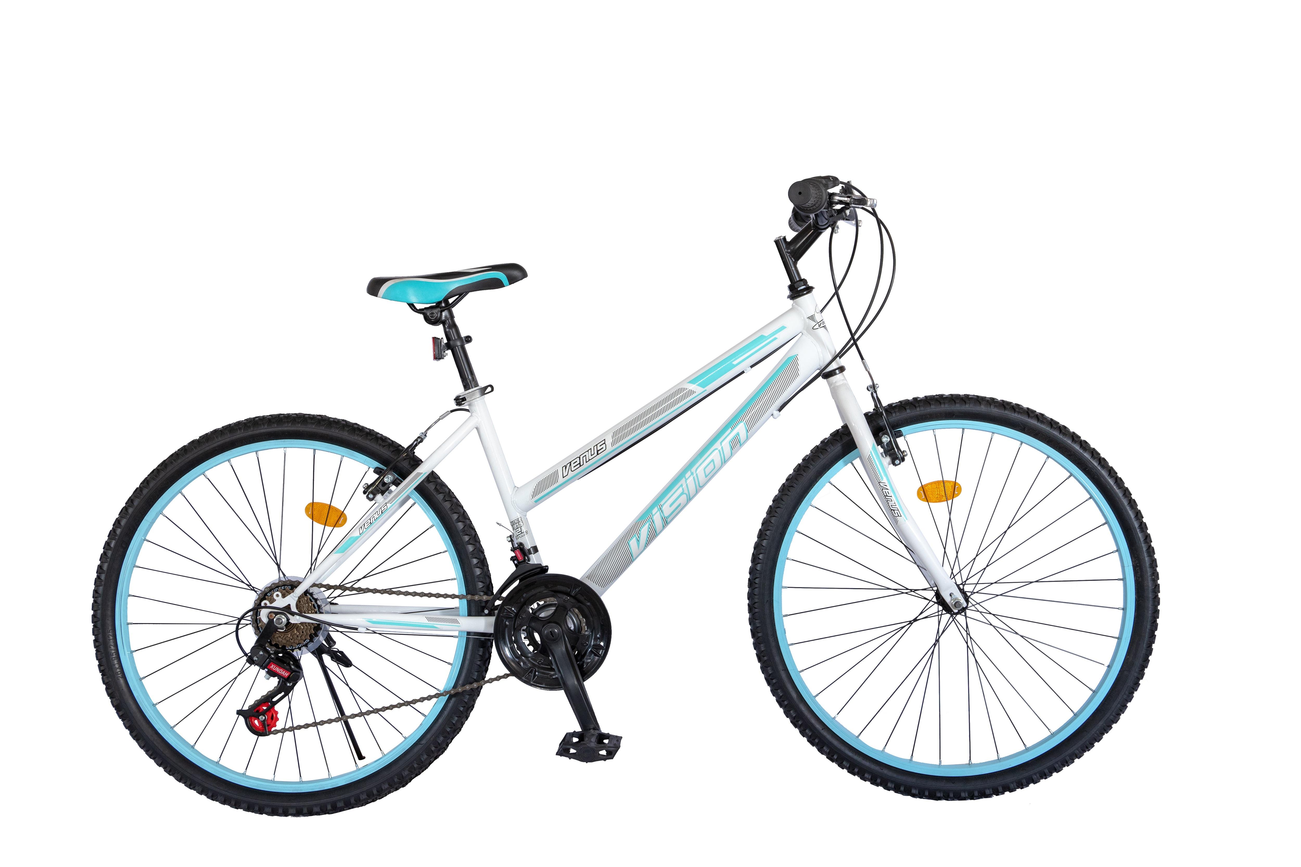 """Bicicleta MTB Dame Vision Venus Culoare Negru/Roz , Roata 26"""" Otel [0]"""
