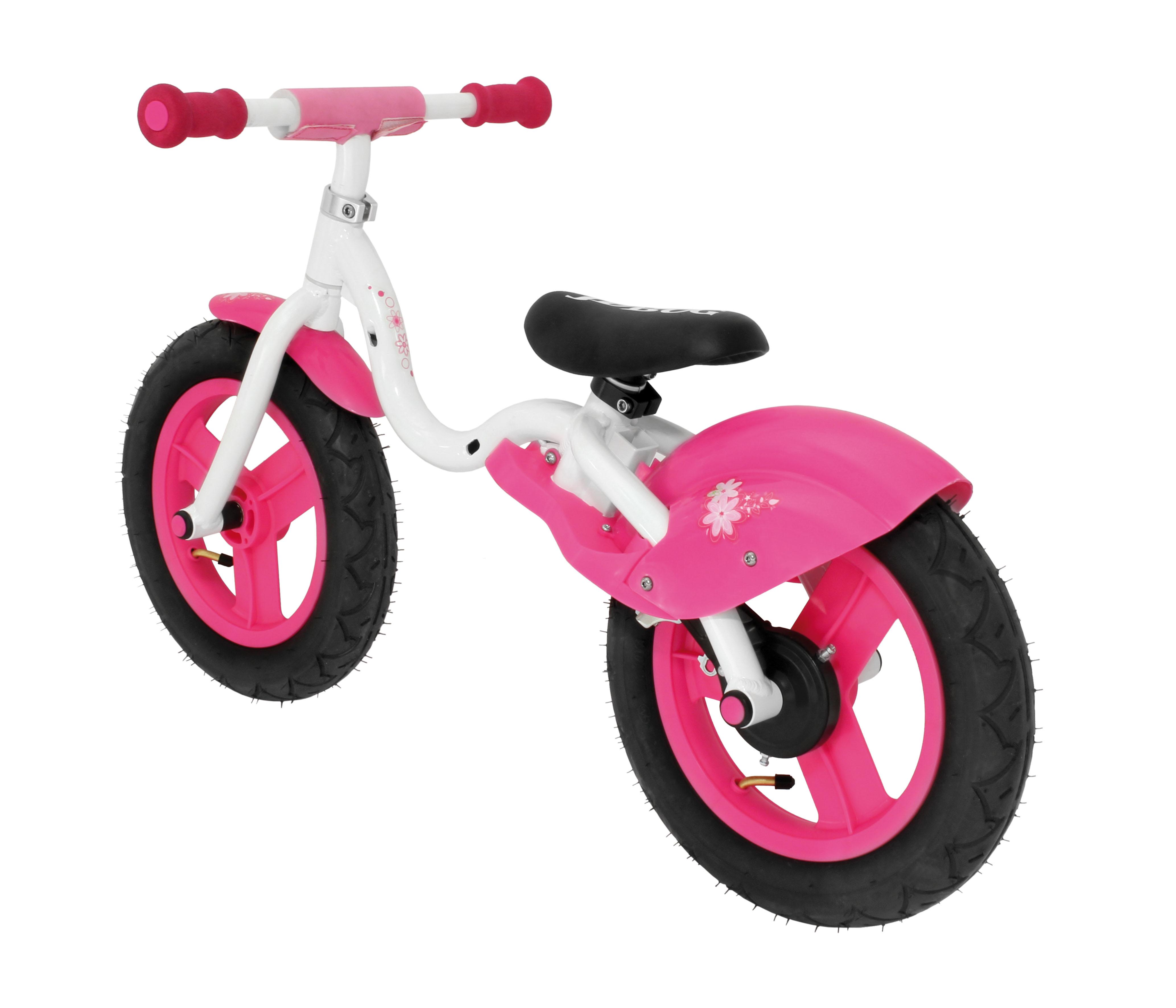 "Bicicleta Copii fara pedale 12"" Roz [0]"