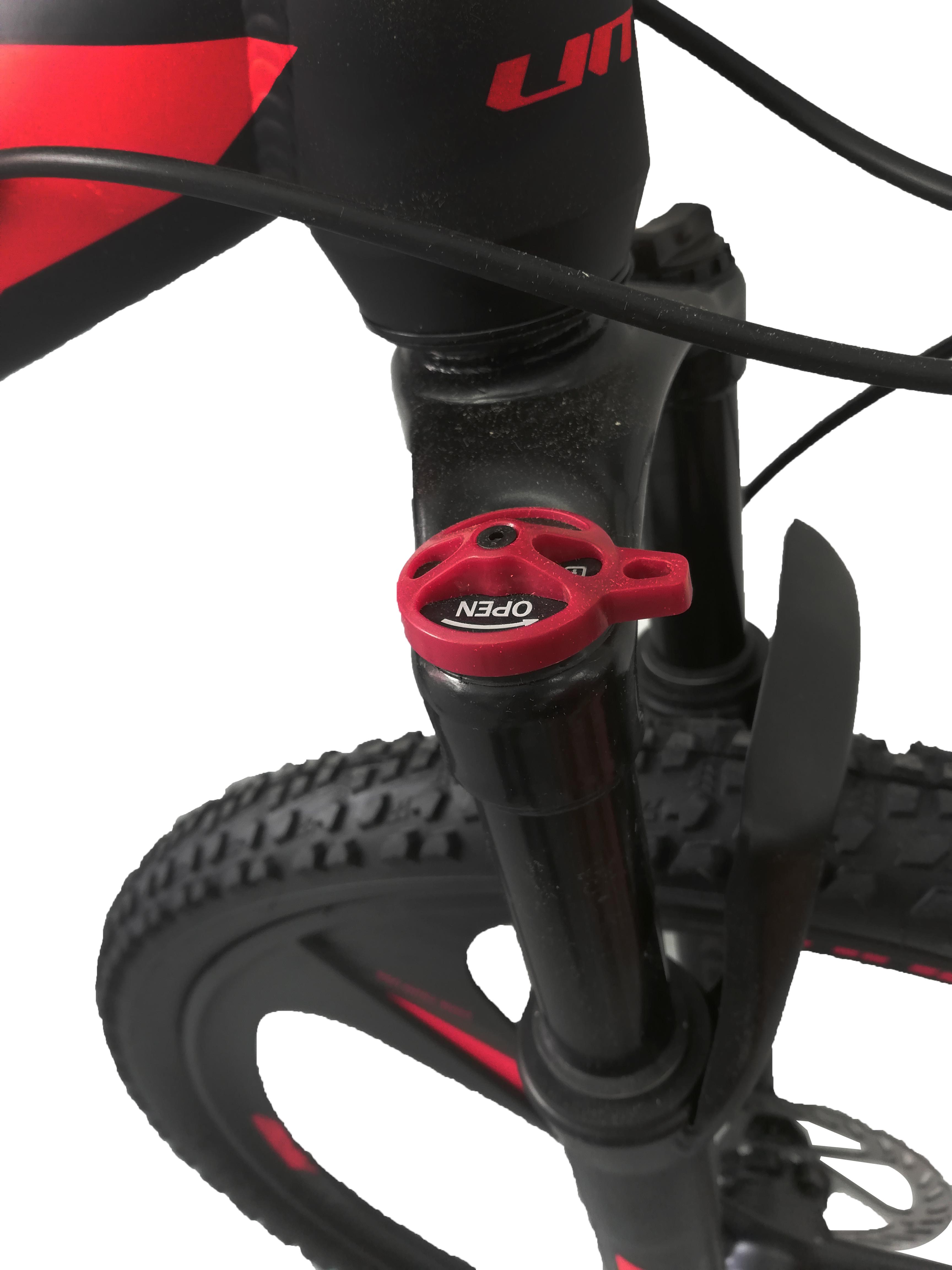 """Bicicleta MTB Umit Accrue 2D , Cadru 18"""" , 21 Viteze , Culoare Negru/Rosu Roata 26"""" [4]"""