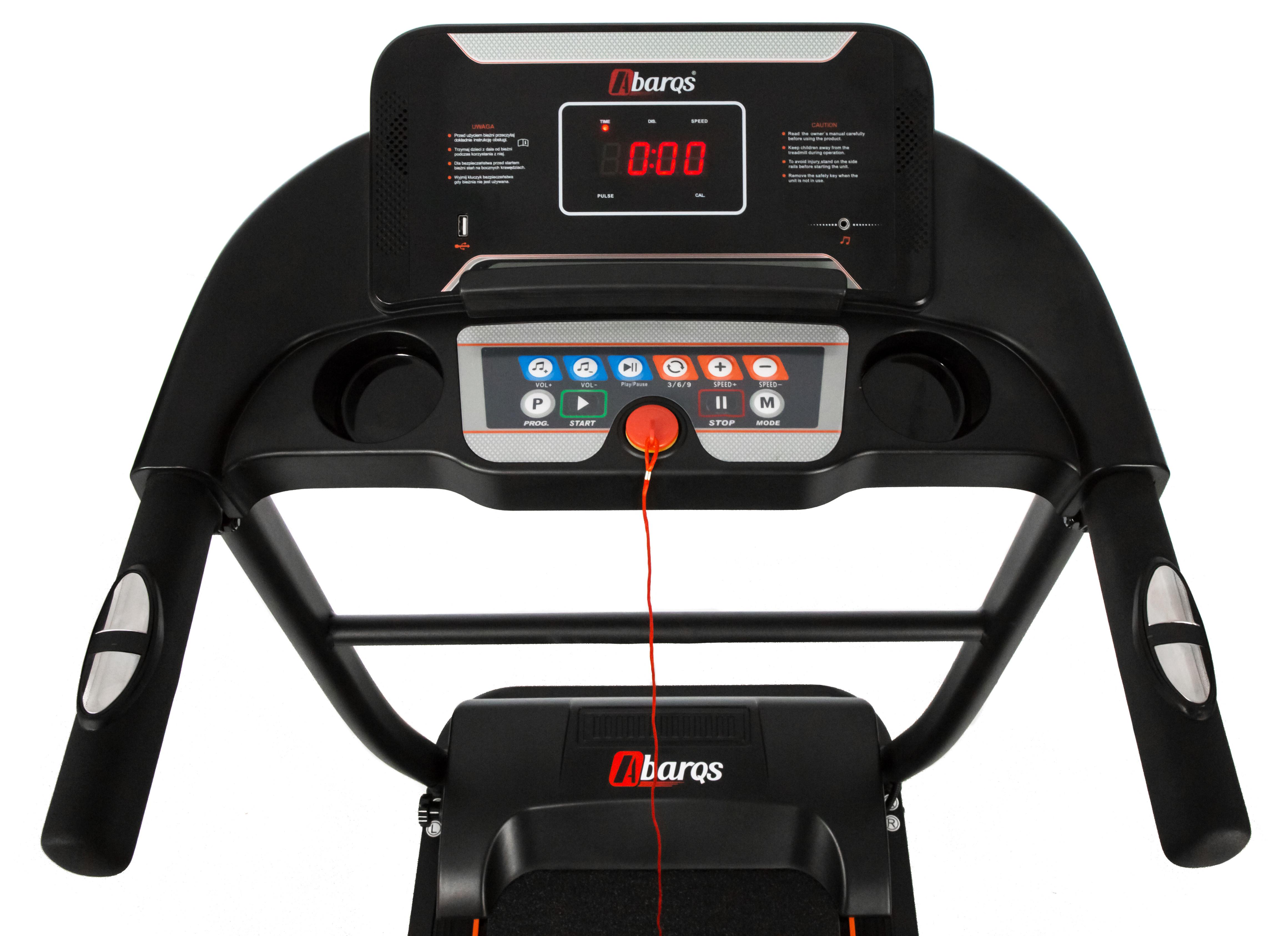 Banda de alergat electrica Sportmann ABARQS, 2CP, 110 kg [12]