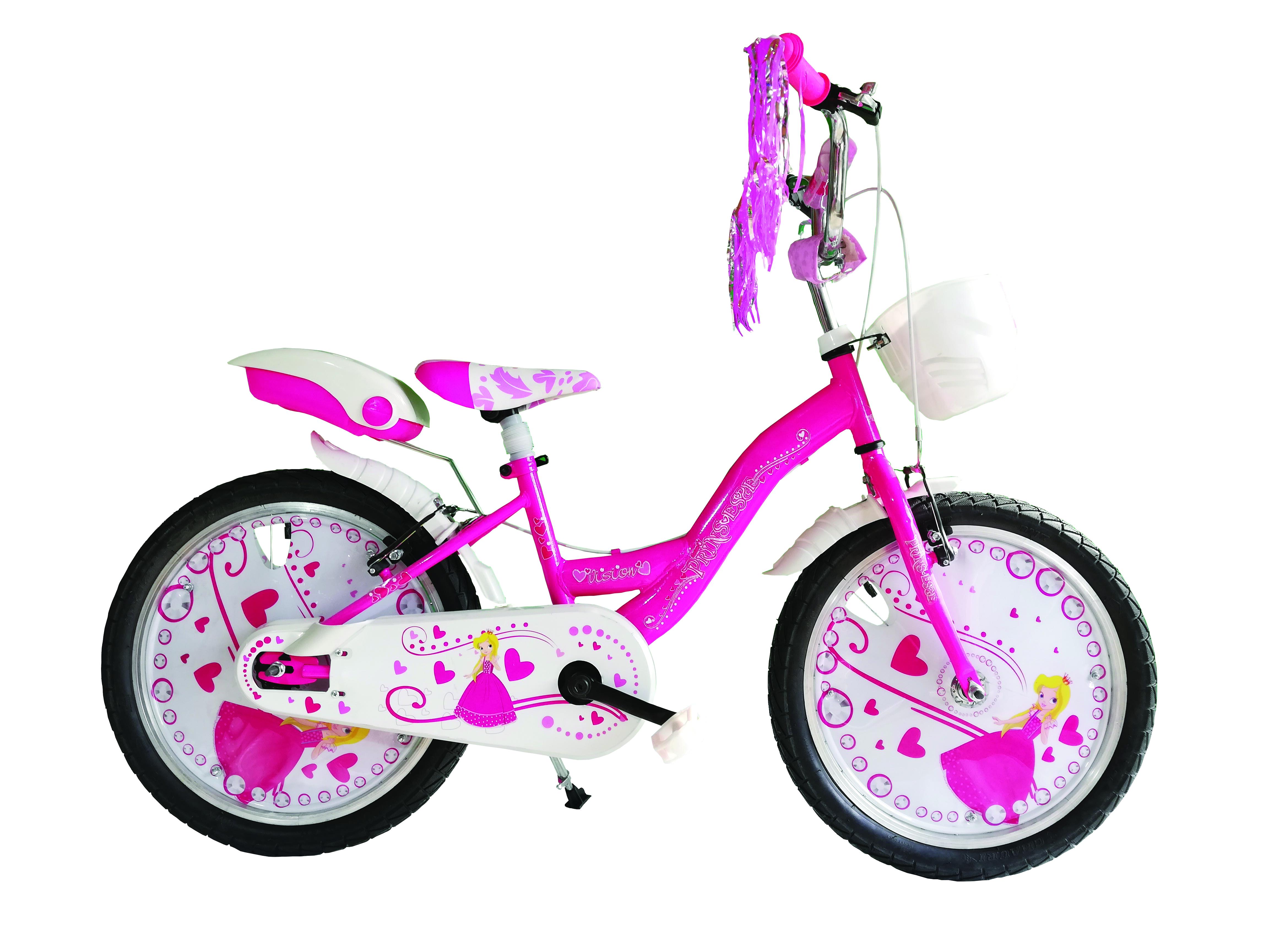 """Bicicleta Copii Vision Princesse Culoare Roz Roata 20"""" Otel [0]"""