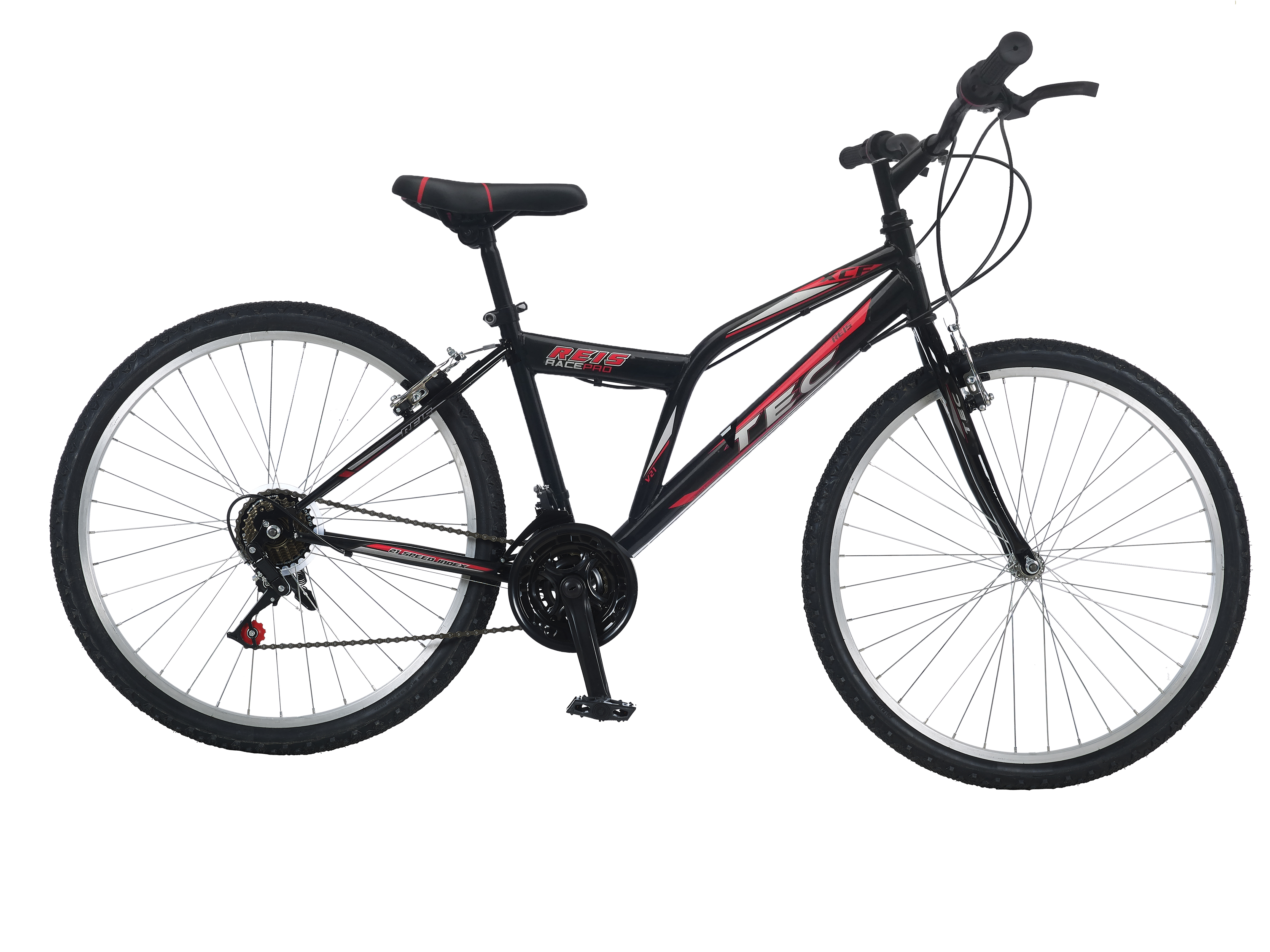 """Bicicleta MTB TEC Reis, culoare Negru/Albastru, roata 26"""", Otel [0]"""
