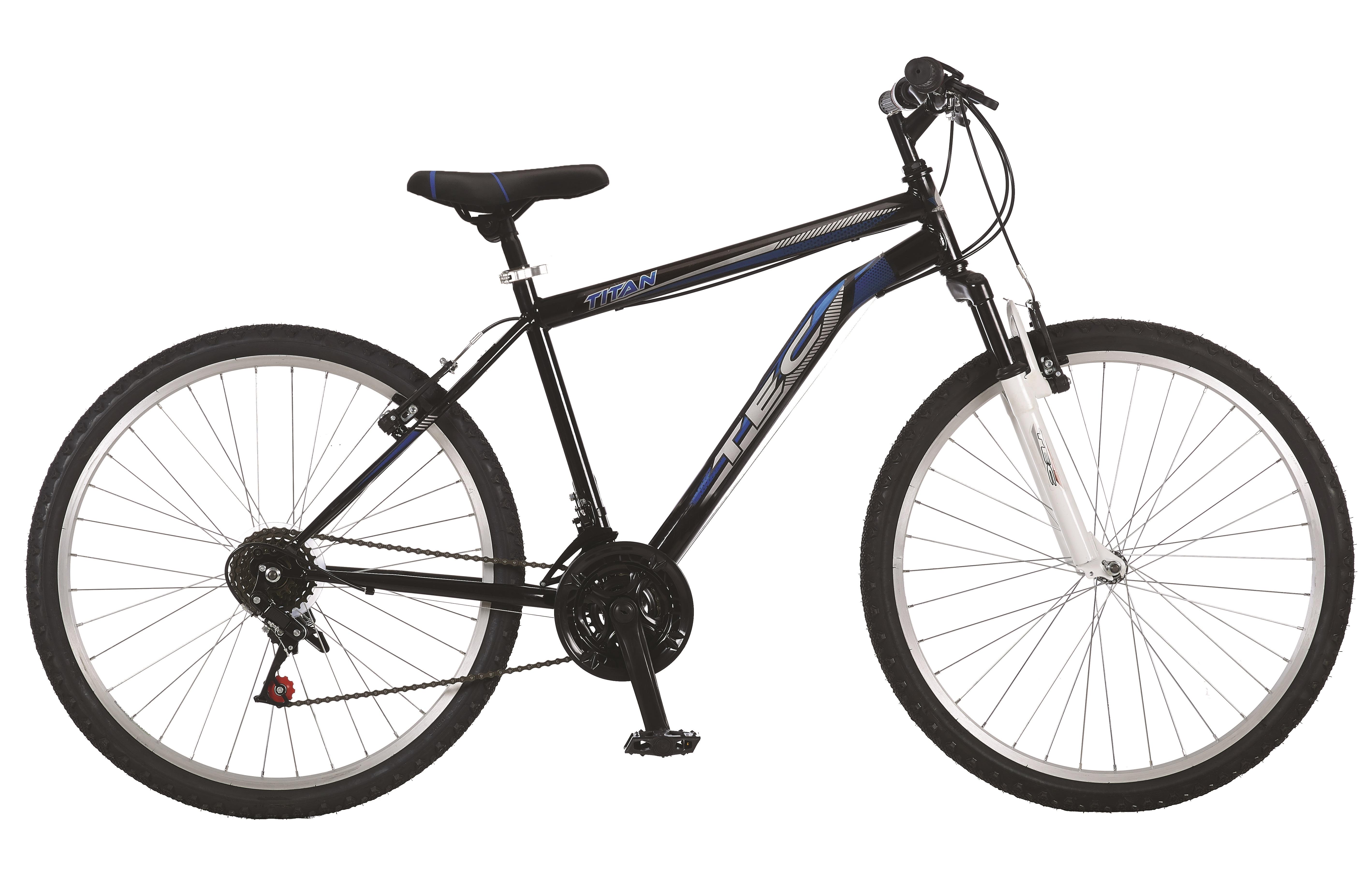 """Bicicleta MTB TEC Titan Suspensie Fata ,Culoare negru/rosu, Roata 26"""" Otel [0]"""
