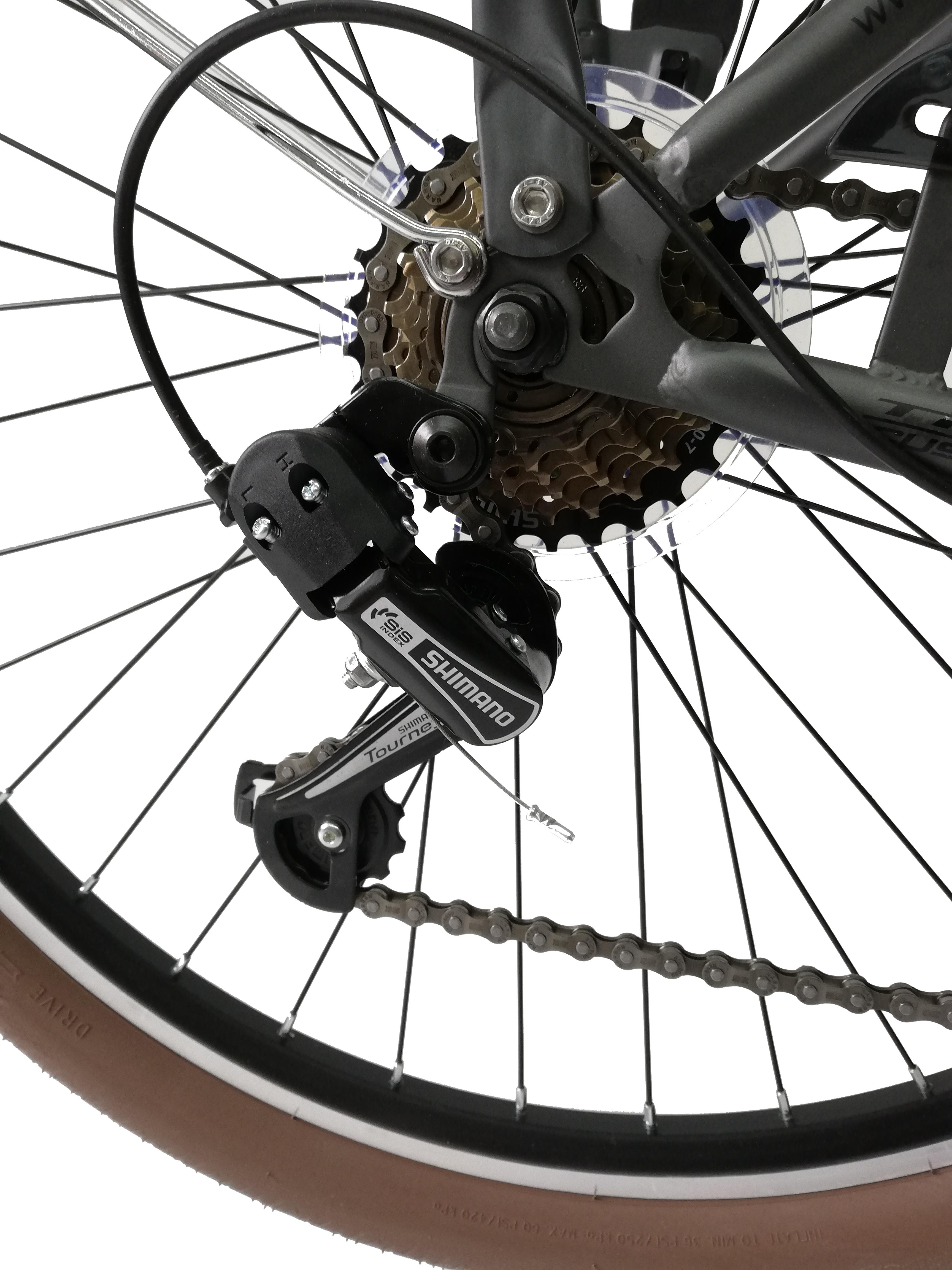 "Bicicleta City Umit Wagen Lady, Culoare Gri, Roata 26"" Otel [2]"