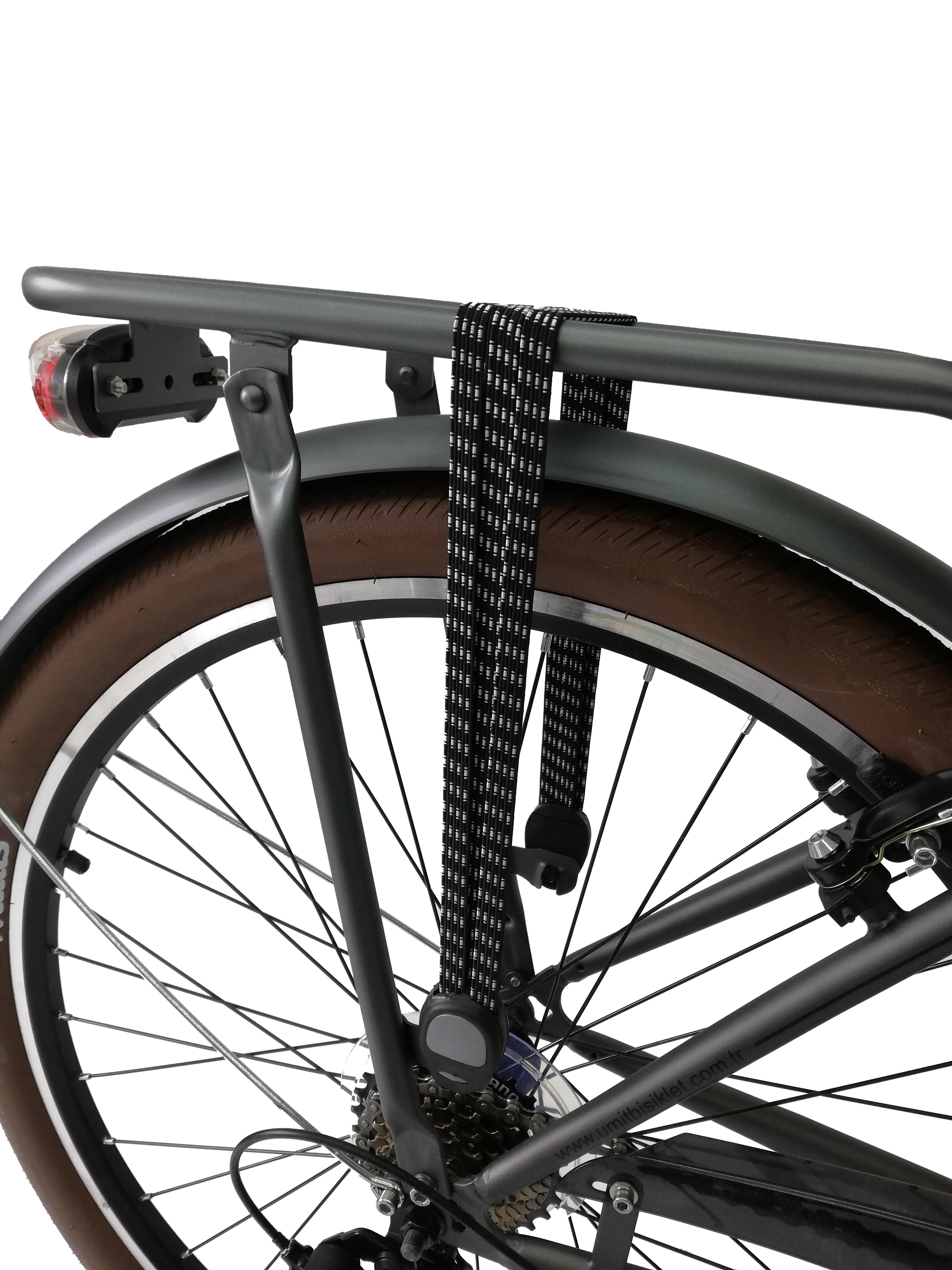 "Bicicleta City Umit Wagen Lady, Culoare Gri, Roata 26"" Otel [4]"