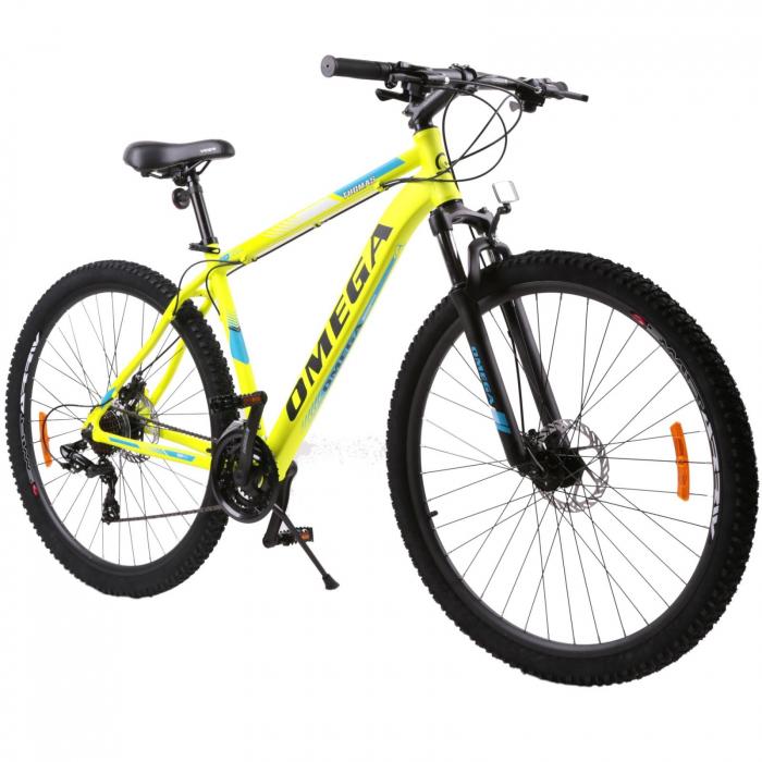 """Bicicleta mountainbike Omega Thomas 29"""" galben [0]"""