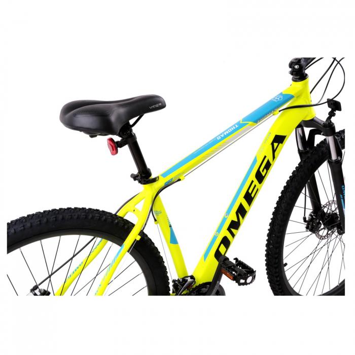 """Bicicleta mountainbike Omega Thomas 27.5"""" galben [1]"""