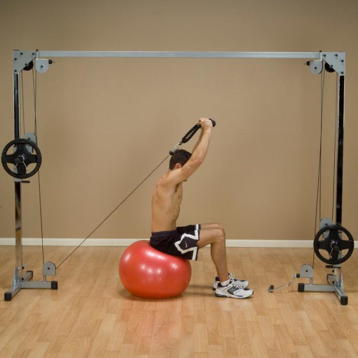 Aparat Fitness Crossover cu Cablu Body-Solid PCCO90X [5]