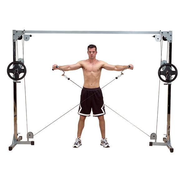 Aparat Fitness Crossover cu Cablu Body-Solid PCCO90X [0]