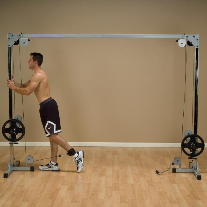 Aparat Fitness Crossover cu Cablu Body-Solid PCCO90X [4]