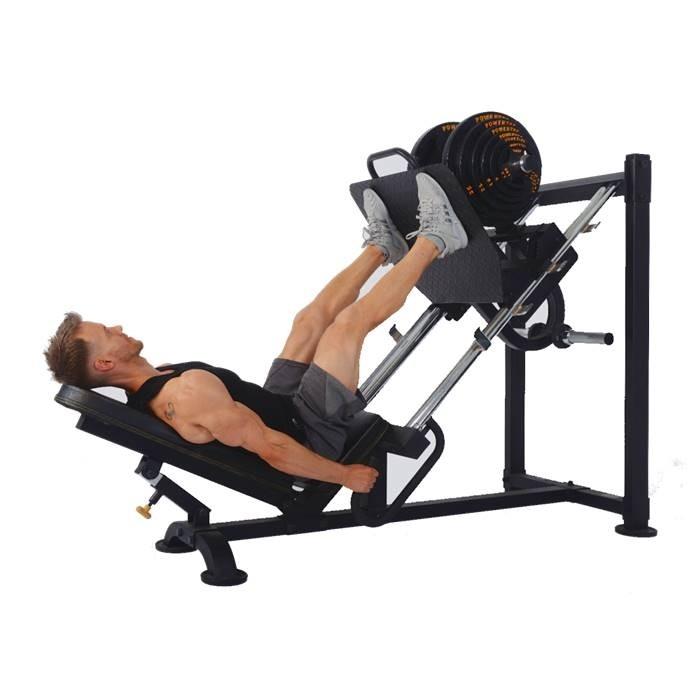 Aparat Presa Picioare, 450 kg, Powertec [2]