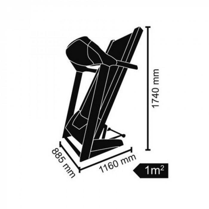 Banda de alergare electrica Toorx TRX-90S [2]