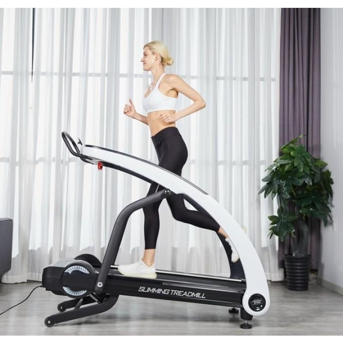 Banda de alergare pentru acasa Luxury ST01, 2 CP, 120 kg, 15 km/h, TheWay Fitness [1]