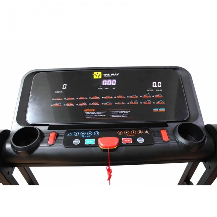 Banda de alergare pliabila, 2.25 CP, 120 kg, 16 KM/H, TheWay Fitness [7]
