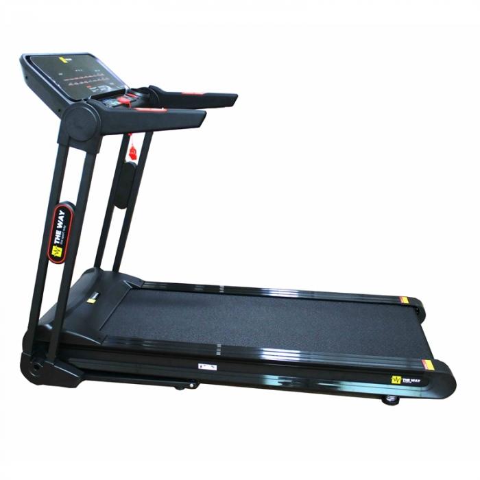 Banda de alergare pliabila, 2.25 CP, 120 kg, 16 KM/H, TheWay Fitness [0]