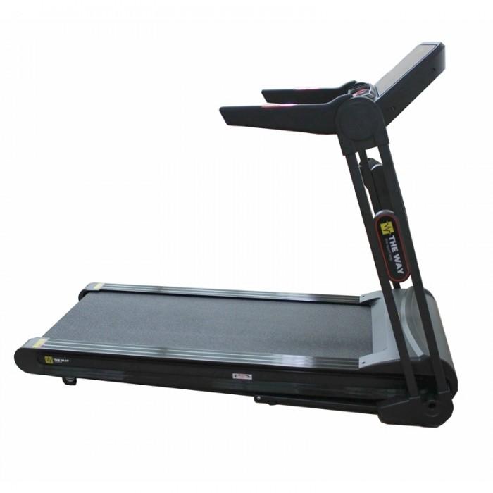 Banda de alergare pliabila, 2.25 CP, 120 kg, 16 KM/H, TheWay Fitness [3]