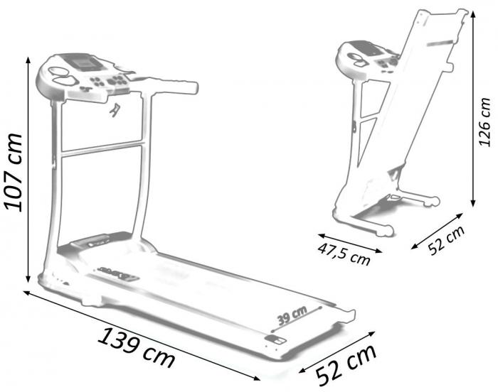 Banda de alergat electrica Sportmann Abarqs [17]
