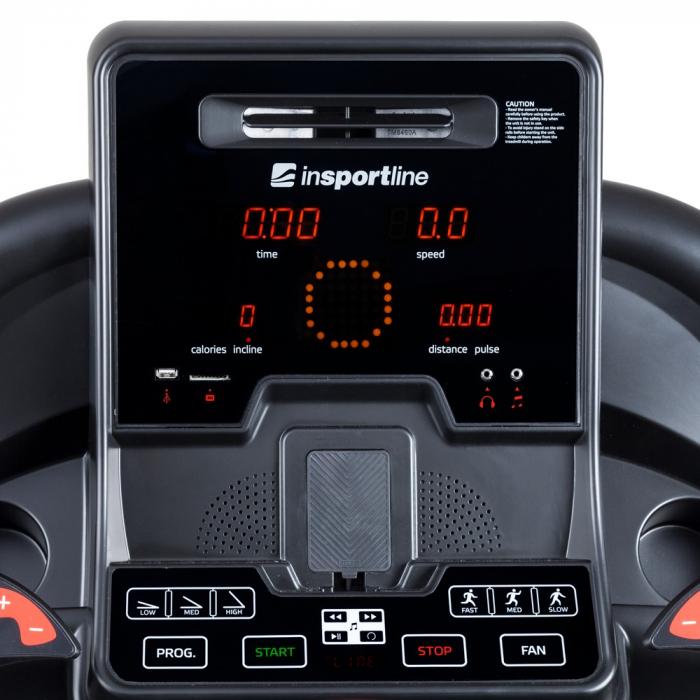 Banda de alergat electrica inSPORTline Gallop II [8]