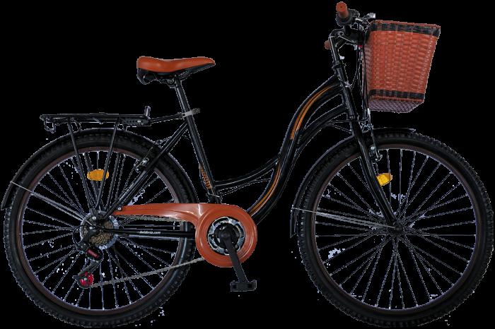 """Bicicleta City Vision Holiday , Culoare Alb/Maro Roata 26"""" Otel [0]"""