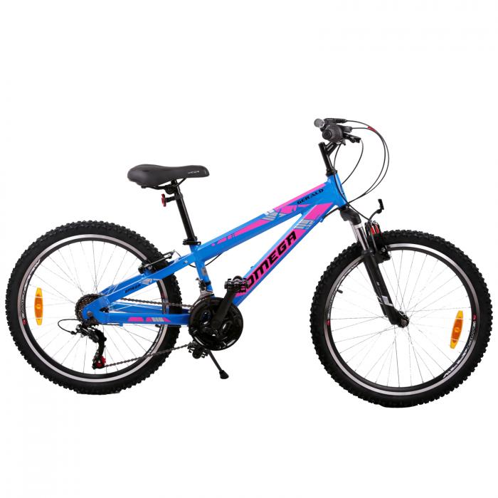 "Bicicleta copii Omega Gerald 24"" albastru [0]"