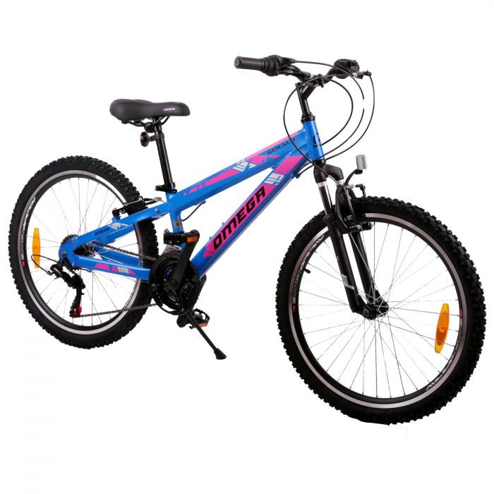 "Bicicleta copii Omega Gerald 24"" albastru [1]"